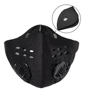 Tapabocas Mascara Antipolucion Virus + Filtro Repuesto Carbo