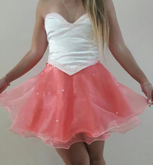 Vestido De 15 Años Corto.