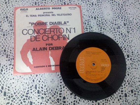 Concierto Nº 1 De Chopin Alain Debray (disco De Vinilo)