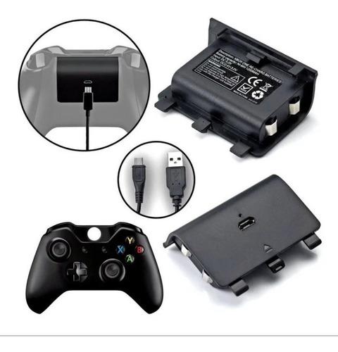 Imagen 1 de 4 de 2 Baterías Recargables  Carga Y Juega Para Xbox One Pila