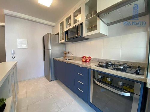 Apartamento À Venda, 60 M² Por R$ 220.340,00 - Nova Veneza - Paulínia/sp - Ap1062