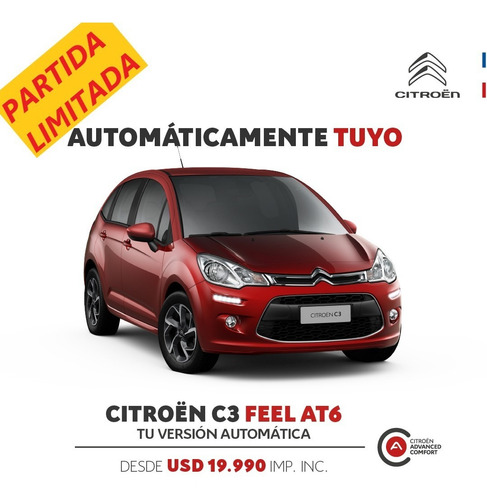 Citroen C3 Feel 1.6 Vti 115 Eat6
