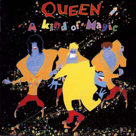 Queen A Kind Of Magic Vinilo Lp Importado Nuevo En Stock