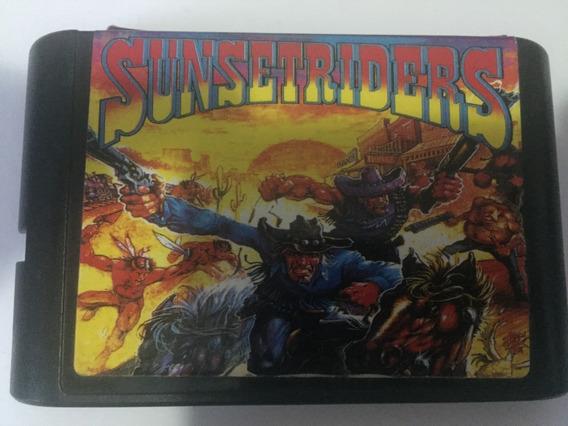 Sunset Riders Mega Drive