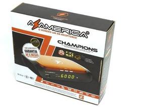 Controle Receptor Azamerica Champions 4k Iptv
