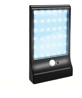 Reflector Solar Led 36 Panel Exterior Sensor Movimiento 18w