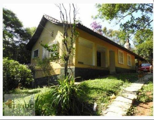 Imagem 1 de 15 de Imob03 - Chácara 3250 M² - Venda - 3 Dormitórios - Chácara Rosalina (santa Luzia) - Ribeirão Pires/sp - Ch0079