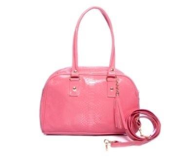 Bolso Victoria Rosa Pop Grande Premium