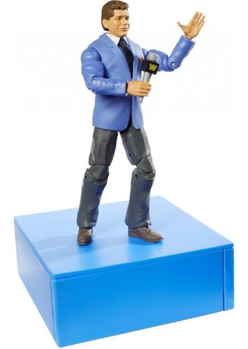 Imagen 1 de 4 de Figura Wwe Mattel Elite 70 Vince Mcmahon Vintage!!