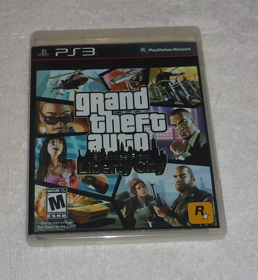 Gta Episodes From Liberty City Ps3 * Frete Gratis
