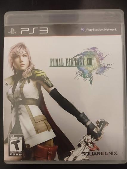 Final Fantasy Xiii 13 Ps3 Playstation 3 Mídia Física Origina