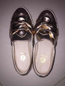 Zapatos Metálicos Rosados