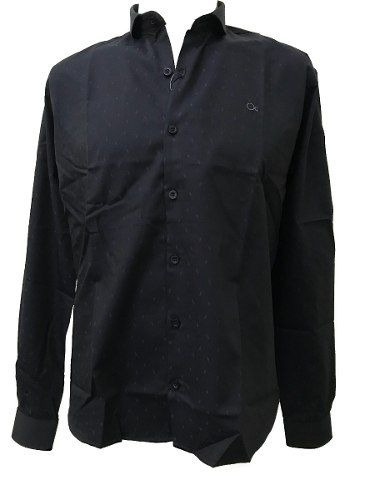 Camisa Social Masculina Ogochi Marinho 001408482