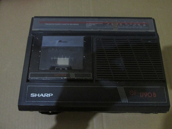 Tampa Deck Rádio Sharp Gf 1790 B