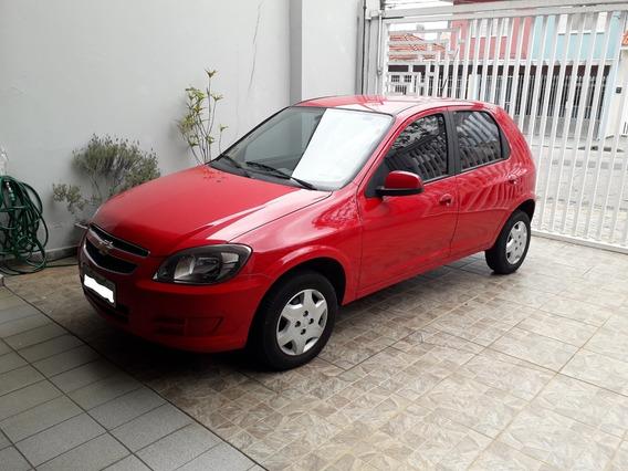 Chevrolet Celta 1.0 Lt 2014/2014, Flex, 4p, Vermelho