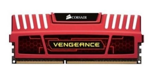 Imagem 1 de 4 de Memoria Ram Corsair Vegeance 1600 Mhz 4gb Vermelha