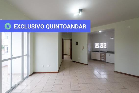 Apartamento No 1º Andar Com 2 Dormitórios E 1 Garagem - Id: 892949430 - 249430