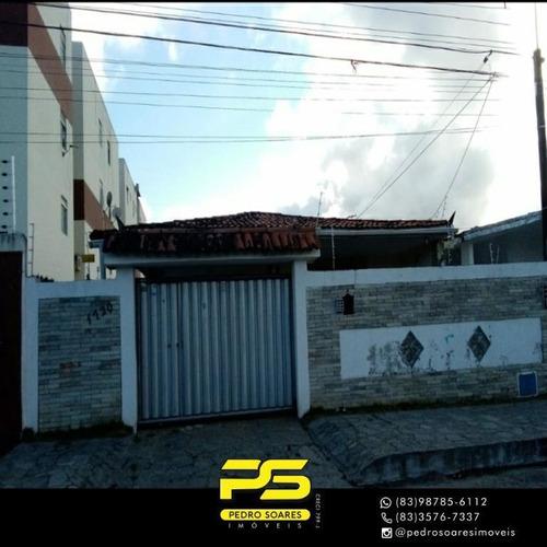 Casa Com 5 Dormitórios À Venda, 168 M² Por R$ 380.000,00 - Cristo Redentor - João Pessoa/pb - Ca0743