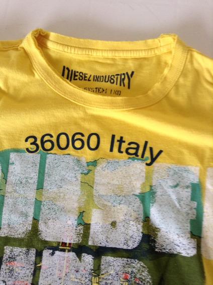 Diesel Italy Camiseta Hombre Tm