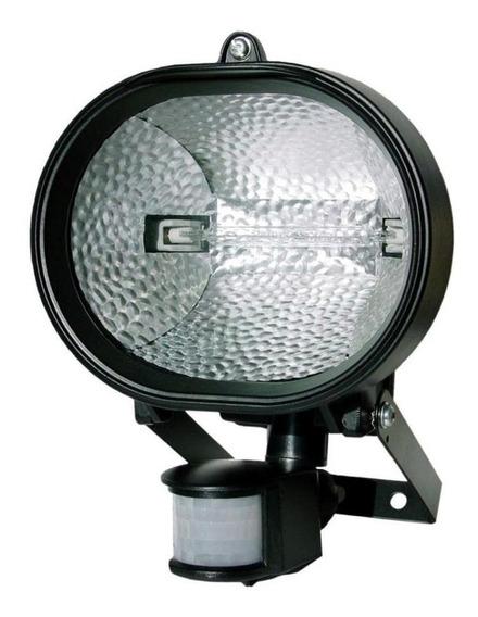 Refletor Holofote Halógeno E Sensor De Presença 150w Dni6016