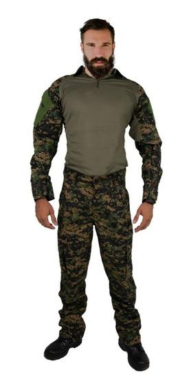 Farda Combat Shirt Tática Militar Airsoft Variedades Foxboy