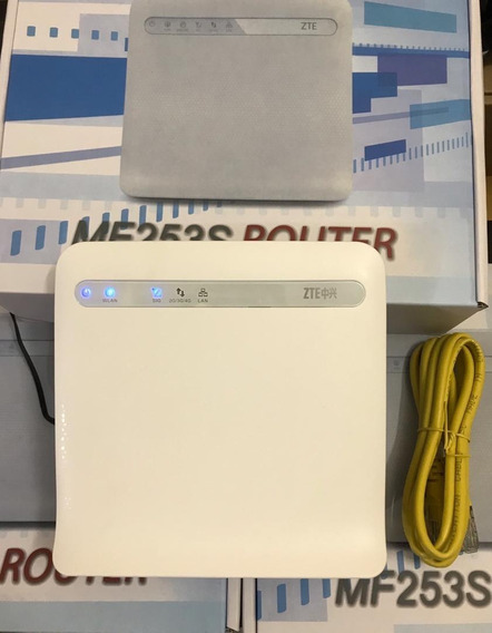 Router Wifi Zte Mf 253s Solo Digitel 4g