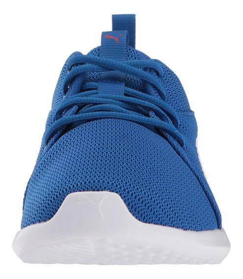 Tennis Puma Original Azul Para Hombre