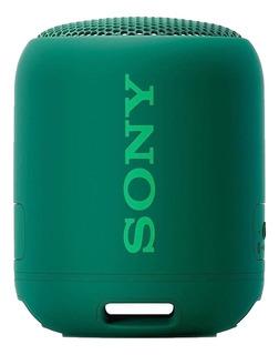 Parlante Sony Extra Bass SRS-XB12 portátil inalámbrico Verde