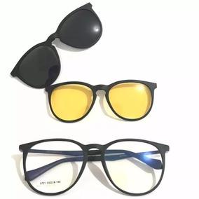 Armação Oculos Grau Sol Masculino Fibra De Carbon Lançament