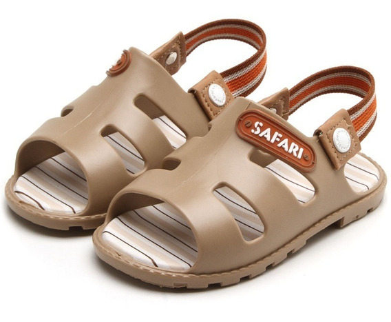 Sandália Pimpolho Safari Bege