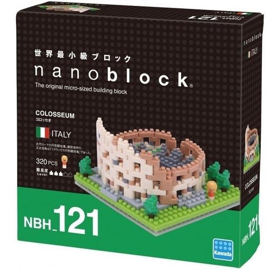 Nanoblock Coliseo Juguete Architecture Rompecabezas Regalo