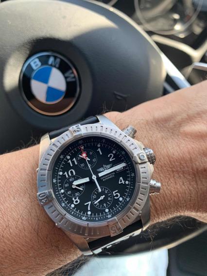 Breitling Avenger Titânio Crono 44mm Aceito Rolex