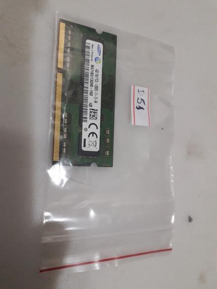 Memória Ram Notebook 4gb Pc3 Ddr3 Original D51