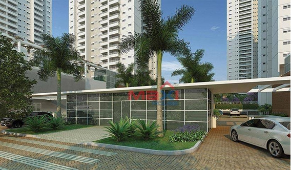 Apartamento De Alto Padrão, 110 M², Jardins Do Brasil Atlântica, 3 Dormitórios, 1 Suite, 2 Vagas. - Ap0943