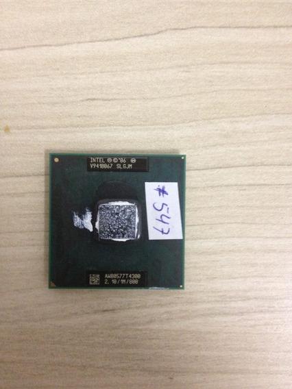 #547 Processador Pentium Dual Core 2.0 Aw80577t4300