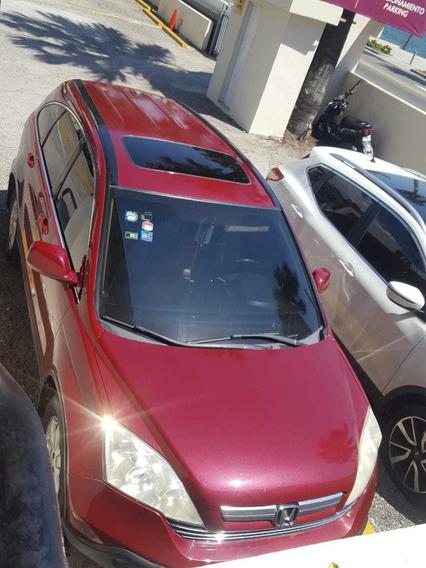 Honda Cr-v 2008 Full 4x4 Rojo Negociable