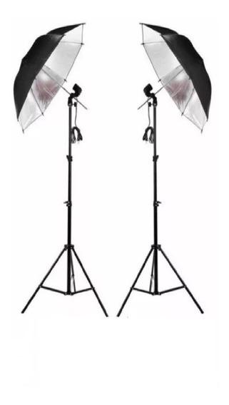 Kit Iluminação Contínua Estúdio Para Fotografia E Filmagem