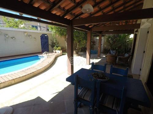 Imagem 1 de 24 de Casa À Venda, 230 M² Por R$ 1.200.000,00 - Piratininga - Niterói/rj - Ca0127