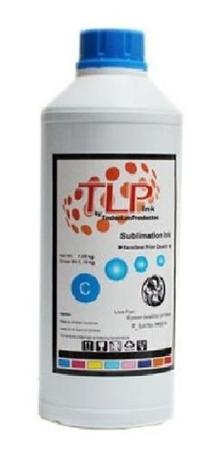 Imagen 1 de 2 de Tinta De Sublimación 1/2 L Marca Tlp Premium Sublimar X Colo