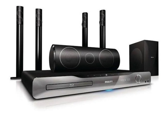 Home Theater Dvd Blu-ray Philips Hts5590w . Com Defeito