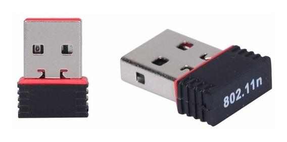 Mini Adaptador Receptor Wireless Usb Mini Nano 600mbps