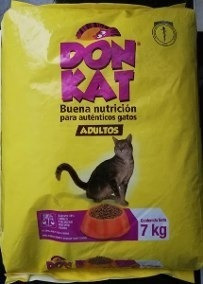 Donkat Para Gato Adulto Por 7 K - Kg A - kg a $7286