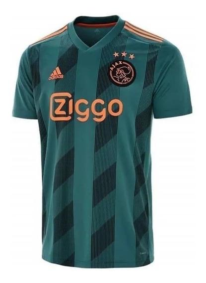 Camiseta Nova Ajax Oficial 2019/20 Lançamento Pronta Entrega