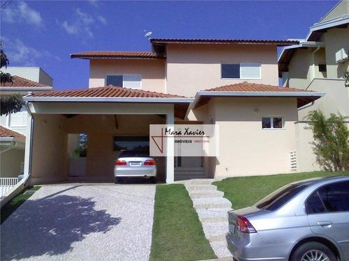 Imagem 1 de 30 de Sobrado Com 3 Dormitórios À Venda, 220 M² Por R$ 1.380.000,00 - Condomínio Jardim Das Palmeiras - Vinhedo/sp - So0229
