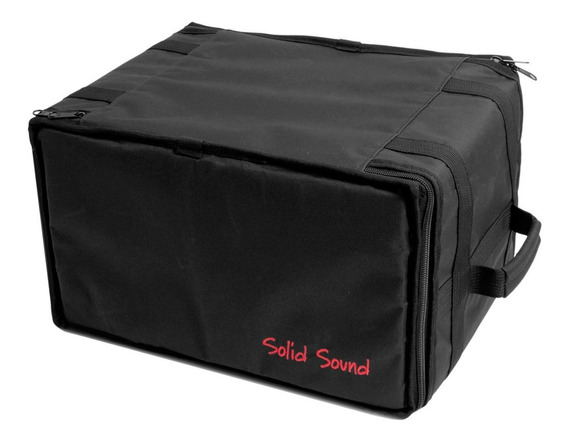Case Rack 6u Pró - Rack 6 Espaços Pró Solid Sound