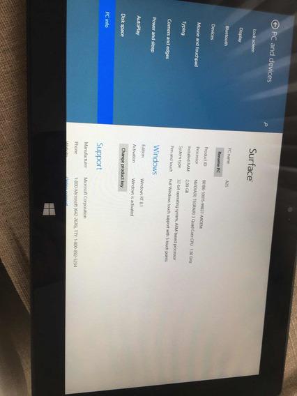 Tablet Windows Surface Rt 8.1 64gb