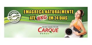 Carque Verde 100 % Original 2 Kits Cha In Natura + 48 Capsul