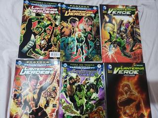 Hq Lanternas Verdes (6 Edições)