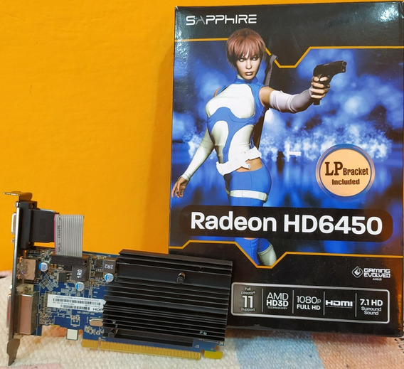 Amd Radeon Hd 6450 - Placas de Video AMD, Usado en Mercado