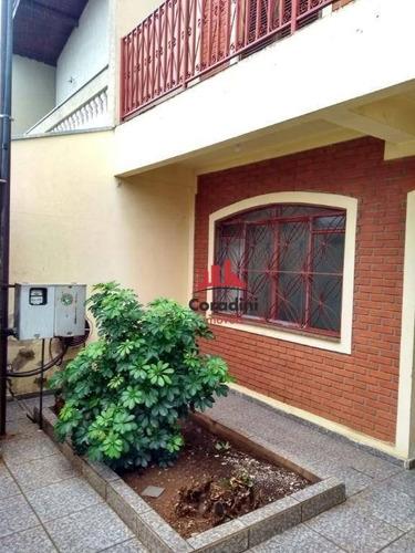 Imagem 1 de 10 de Casa Residencial À Venda, Jardim Nossa Senhora De Fátima, Nova Odessa. - Ca1689